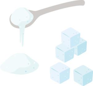 下例の原因は白砂糖の摂り過ぎに