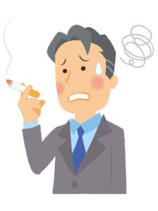 下痢の原因は副流煙