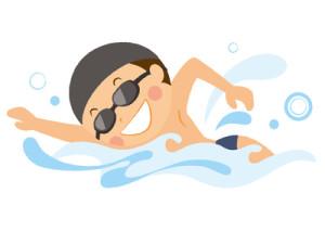 下痢の原因はプールに