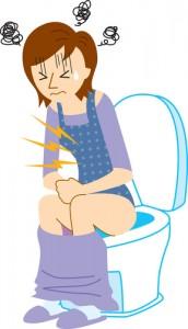 抗生物質が原因で下痢が続く