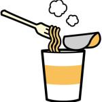 下痢の原因はカップ麺