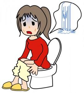 下痢で辛い